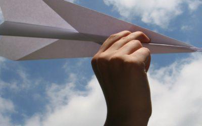 Make a paper aeroplane!