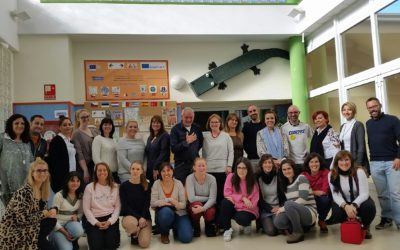 Intense and wonderful week with the visit of European teachers to our school 13-17 november 2017