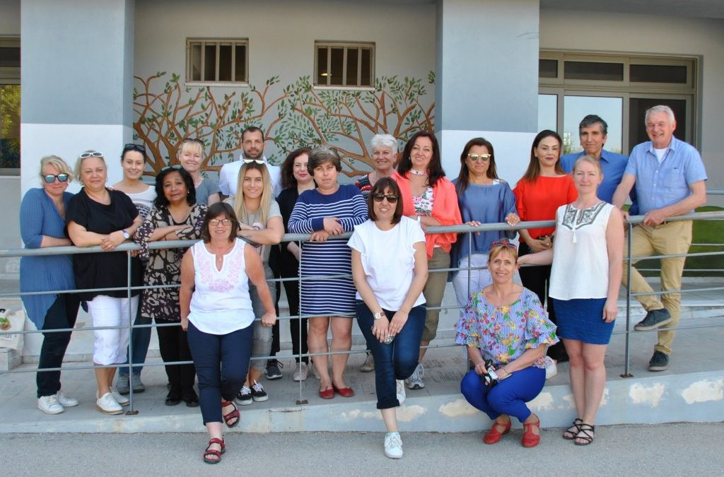 THE VISIT IN THE SCHOOL OF KYPSELY-AEGINA, 16-20 APRIL 2018