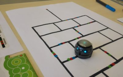 OZOBOT helps to learn to measure and coding