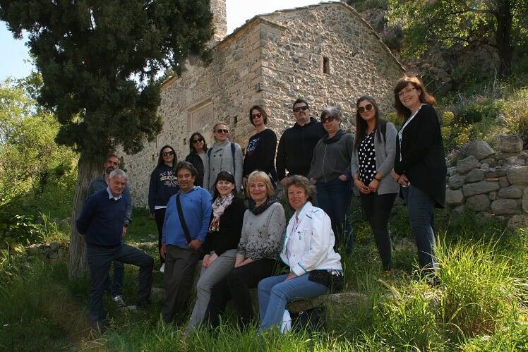 visit Greece in April 2019